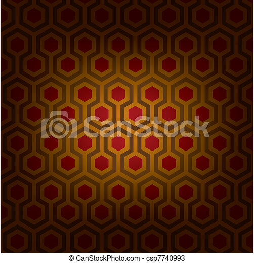 Abstract vector illustration of classical traditional artistic pattern. Ideal graphic for background, pattern or texture design. - csp7740993