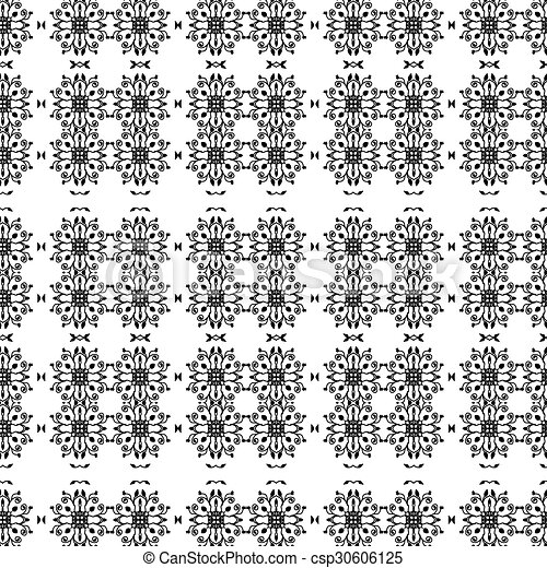 Abstract vector seamless pattern. - csp30606125