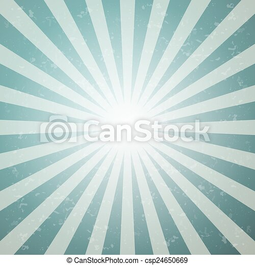 Abstract Vector Star Shaped Retro Green and Blue Background - csp24650669