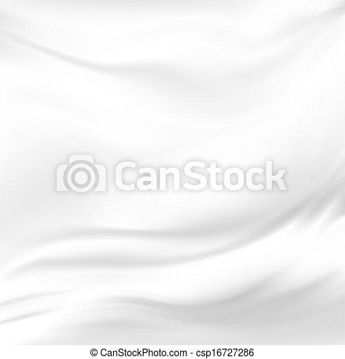 Abstract Vector Texture, White Silk - csp16727286