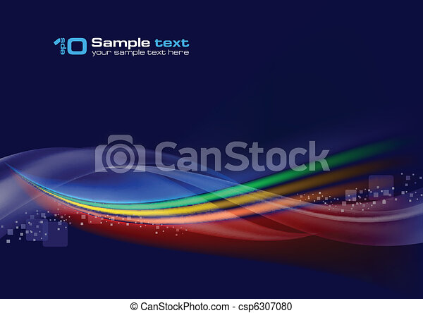 Abstract vector wave - csp6307080