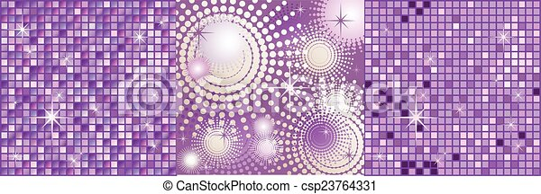Abstract violet background - csp23764331