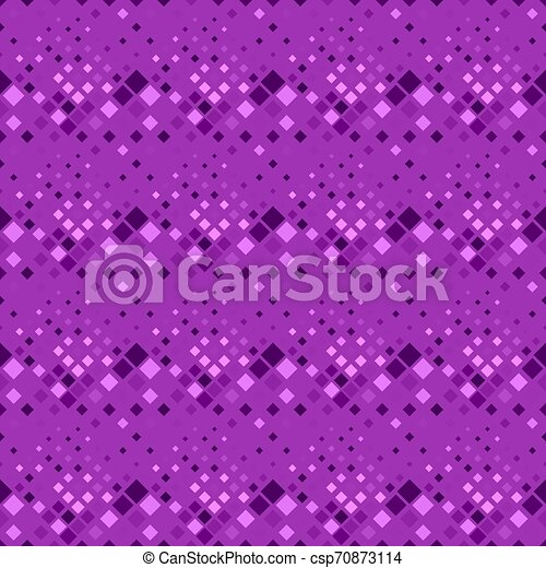 Abstract violet geometrical diagonal square pattern background - csp70873114