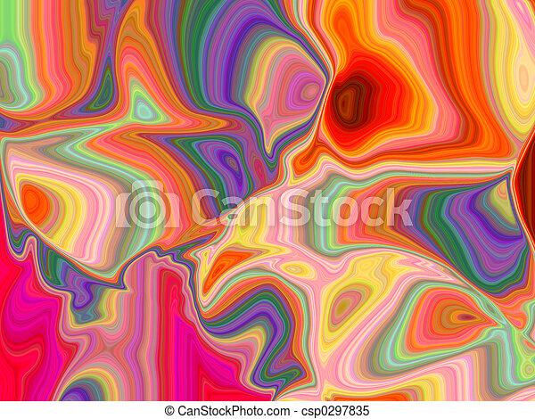 abstract, vlinder - csp0297835