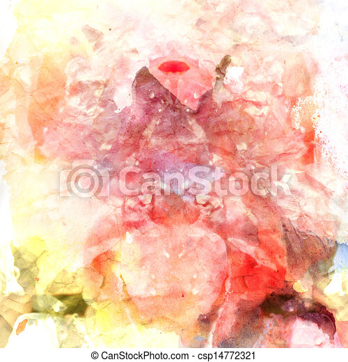 abstract watercolor background - csp14772321