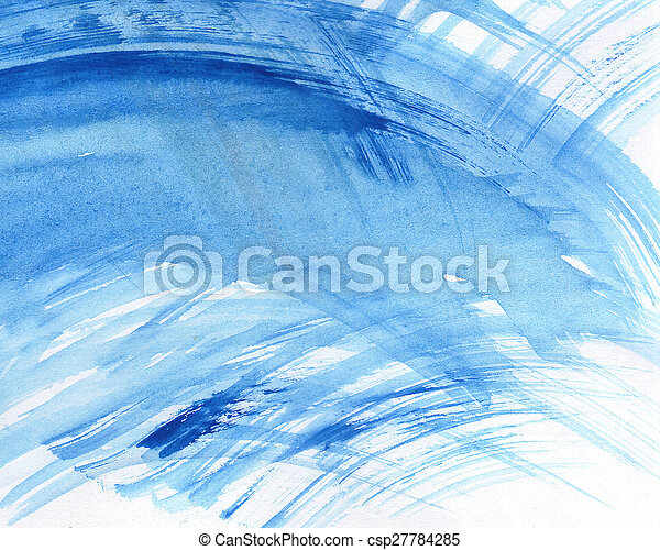 Abstract watercolor painted background - csp27784285