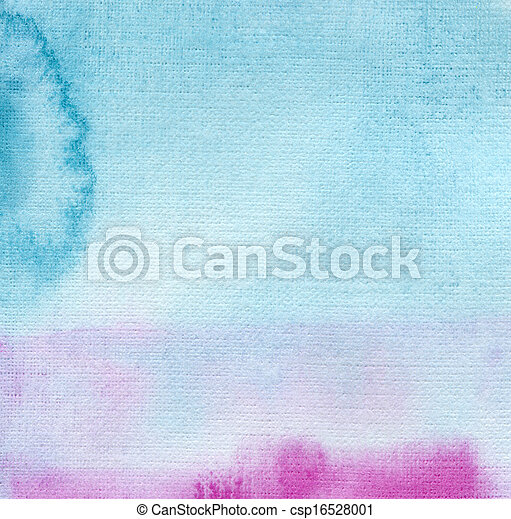 Abstract  watercolor painted background - csp16528001