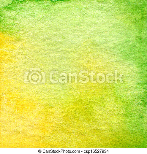 Abstract  watercolor painted background - csp16527934