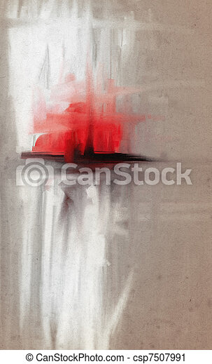 Abstract watercolor - csp7507991
