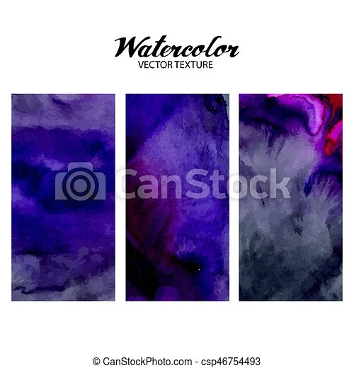 Abstract watercolor texture - csp46754493