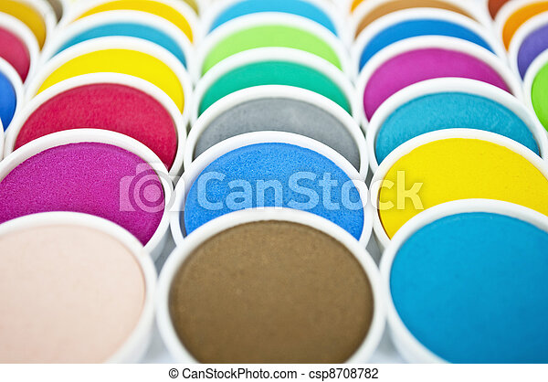 Abstract watercolors background - csp8708782