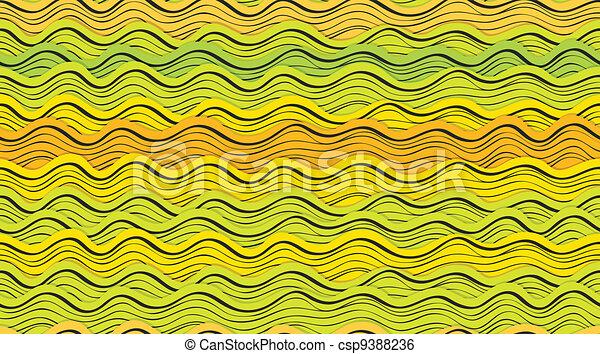 abstract waves - csp9388236