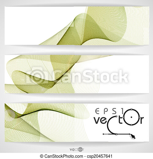 Abstract Waves Design. - csp20457641