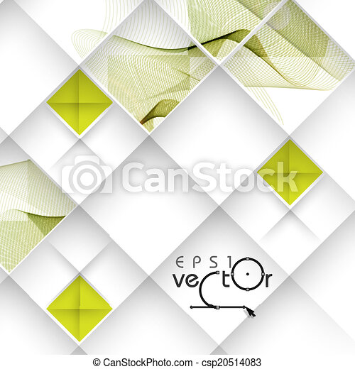 Abstract Waves Design. - csp20514083