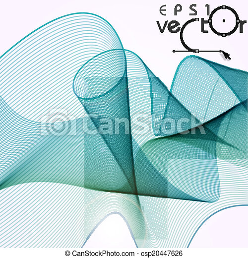 Abstract Waves Design. - csp20447626