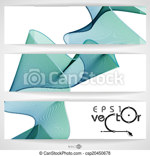 Abstract Waves Design. - csp20450678