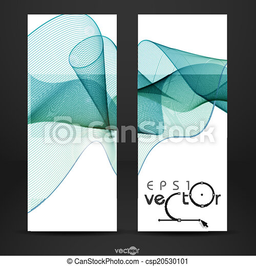 Abstract Waves Design. - csp20530101