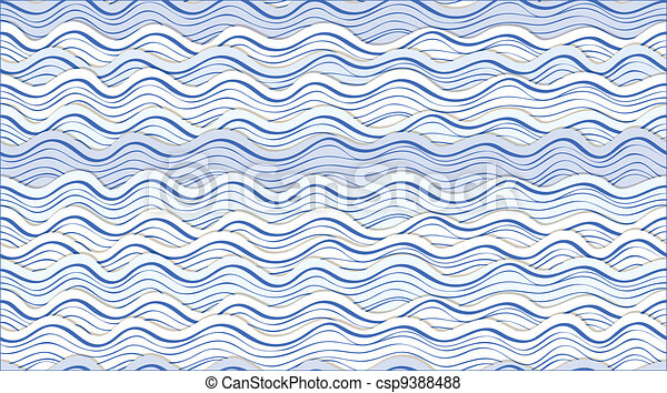 abstract waves - csp9388488