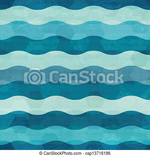 abstract waves seamless - csp13716186