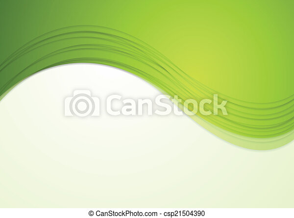 Abstract waves vector background - csp21504390