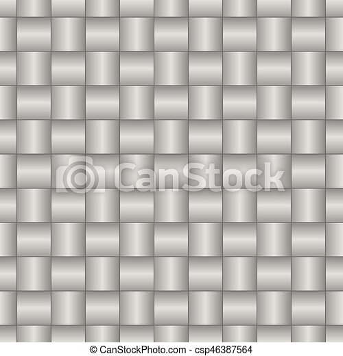 Abstract weaving seamless pattern - csp46387564