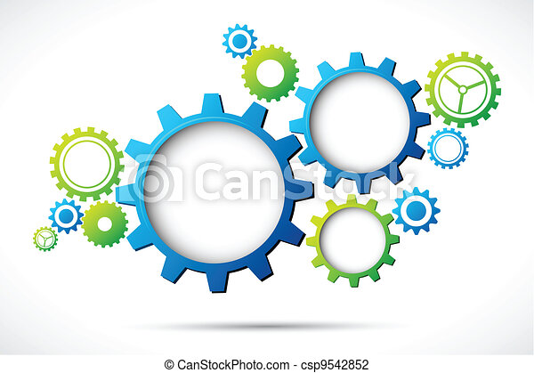 Abstract Web design - csp9542852