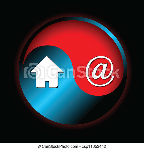Abstract web icon - csp11053442