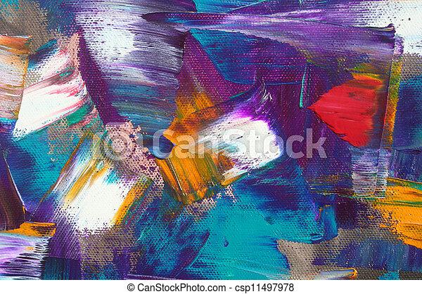 abstract, werken, kunst - csp11497978