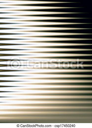 Abstract Window Blinds Computer Generated Abstract That Resembles