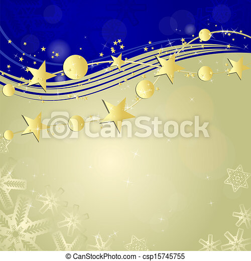 Abstract winter background - csp15745755