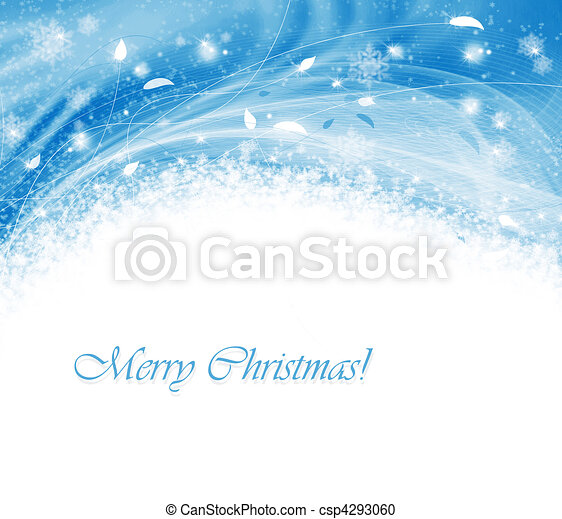 Abstract winter background - csp4293060