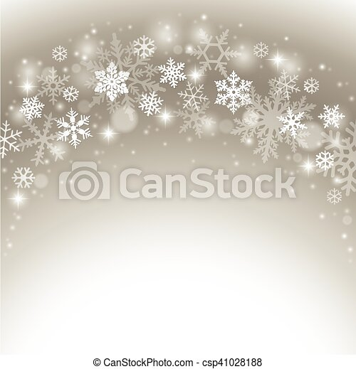 Abstract winter background - csp41028188