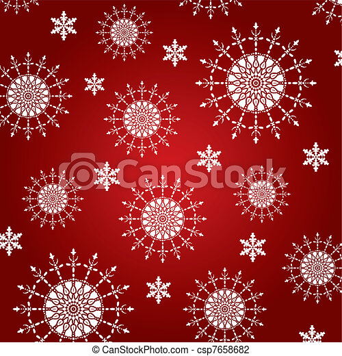 abstract winter background - csp7658682