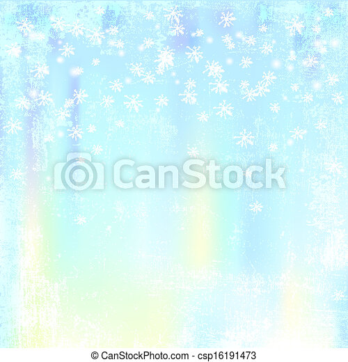 Abstract winter background - csp16191473