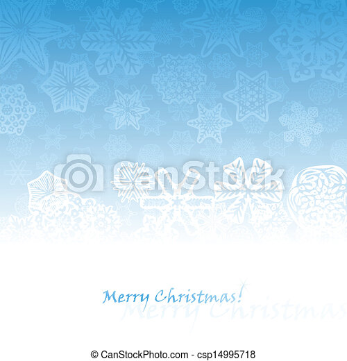 Abstract winter background - csp14995718
