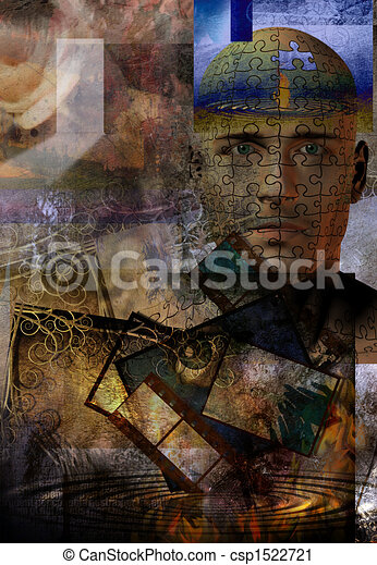 Abstract with Human - csp1522721