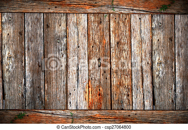 Abstract Wood high contrast background texture - csp27064800
