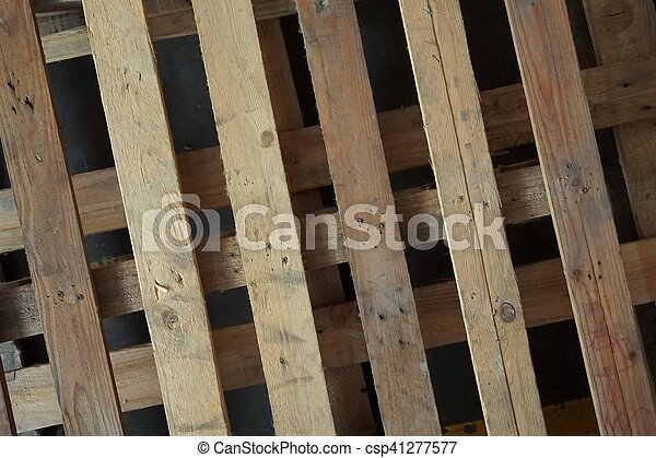 Abstract Wood Pallet Of Texture For Background