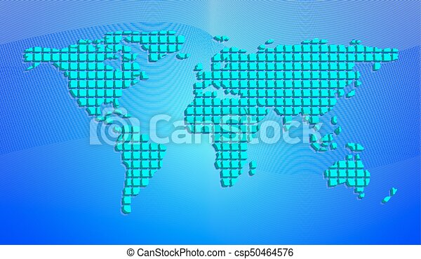 Eps10 abstract world map from 3d squares vector vectors abstract world map from 3d squares vector illustration gumiabroncs Image collections