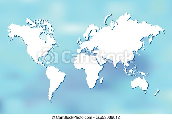 Abstract world map illustration colorful world map illustration on abstract world map illustration gumiabroncs Gallery