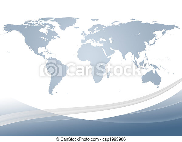 Abstract world map abstract dynamic background and world map in abstract dynamic background and world map in gradient light blue gumiabroncs Image collections