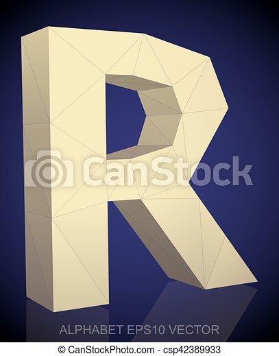 Paper Flower Alphabet Letter R 3d Render Pastel Colored Flowers In ...   470x367