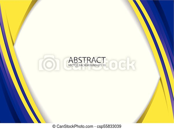Abstract Yellow Blue Modern Background Abstract Elegant Background Design With Space For Your Text Corporate Concept Yellow