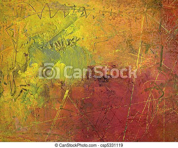 abstrakcyjna sztuka - csp5331119