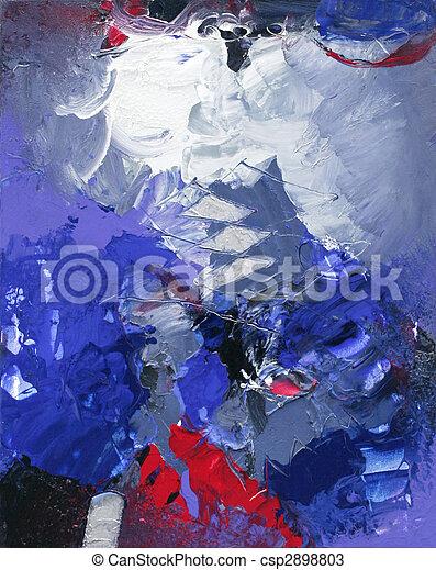 abstrakcyjna sztuka - csp2898803