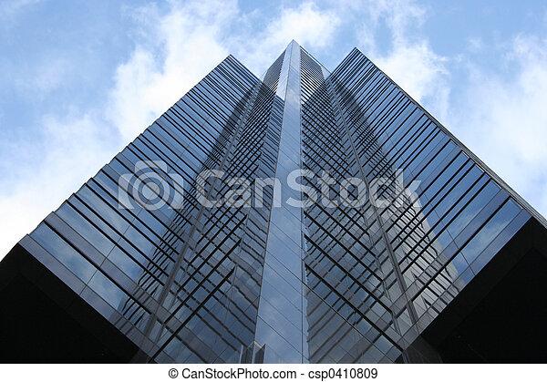 abstrakcyjny, nowoczesna architektura - csp0410809