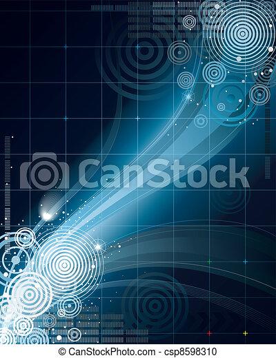 abstrakcyjny, przestrzeń - csp8598310