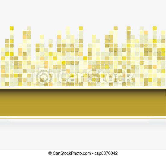 abstrakcyjny, skwer, tło - csp8376042