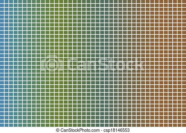 abstrakcyjny, skwer, tło - csp18146553