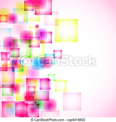 abstrakcyjny, tło - csp4418802